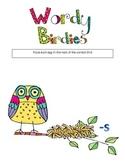 Wordy Birdies plural words