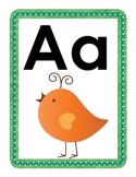 Wordy Birdy Alphabet for word wall