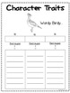 Wordy Birdy Differentiated Book Study Activities