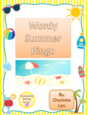 Wordy Summer Bingo