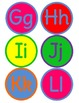 Wordy Word Wall Letters (Capital and Lowercase) CUSTOMIZABLE