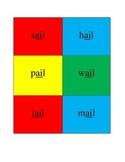 Wordzo - A Vowel Pattern Game for Kids