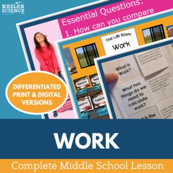Work Complete 5E Lesson Plan