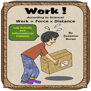 Work, According to Science:  Work = Force X Distance