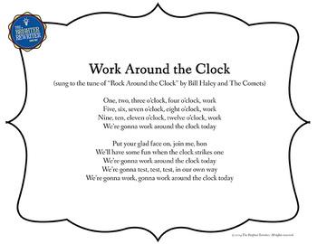 Testing Song Lyrics for Rock Around the Clock