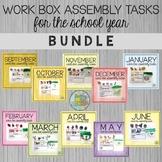 Work Box Assembly Tasks - BUNDLE