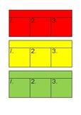 Work Box Task Schedule