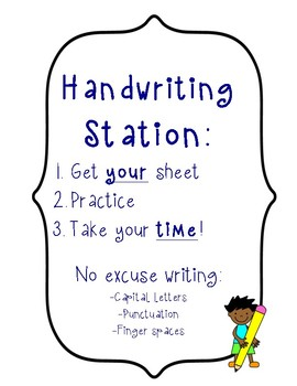 Work Center or Stations Checklists