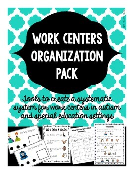Work Centers Organization Pack