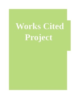 Works Cited Project