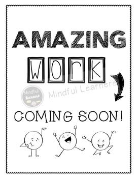 Work Coming Soon- FREEBIE