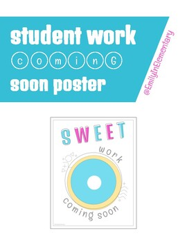 Work Coming Soon Poster