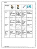 Work Completion Behavior Chart