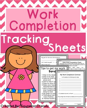Work Completion Tracking Sheets