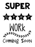 Work Display Poster
