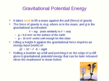 Work Energy and Power - Physics Quick Review and Presentation