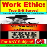 Work Ethic Survey and Reflection PowerPoint