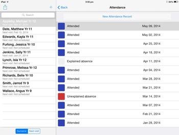 Work Experience iPhone / iPad App