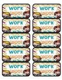 Work Folder Labels