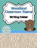 Work Folder - Woodland Theme