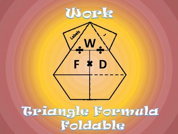 Work Formula Foldable