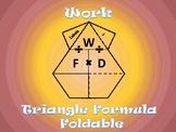 Work Formula Foldable