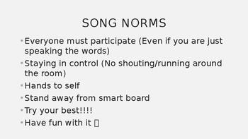 Work Habits Educational Song