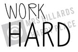 Work Hard SVG & PNG files