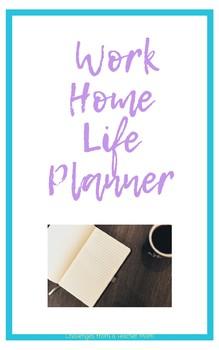 Work/Home Life Balance Planner [Interactive]