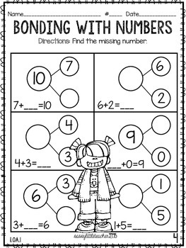 Work It Out with Number Bonds