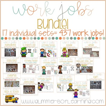 Work Job Bundle: A collection of all current and future work jobs