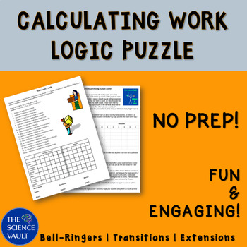 Work Logic Puzzle - Calculate Work from Clues about Force and Distance