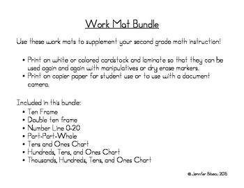 Work Mat Bundle