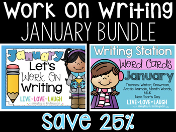 Work On Writing Bundle {January}