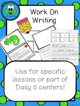 Work On Writing Centers