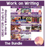 Work On Writing- Daily 5 Activities THE BUNDLE