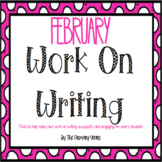 Work On Writing: February Edition