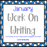 Work On Writing: January Edition