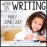 Work On Writing - May/June/July