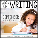 Work On Writing - September