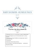 Work Place - Baby Shower - Bundle Pack - Girl/Boy?- mint