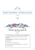 Work Place- Baby Shower Bundle Pack- Its a Boy