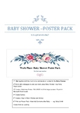 Work Place- Baby Shower - Poster Pack- Boy/Girl?