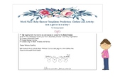 Work Place- Baby Shower Templates- Prediction- Clothes Lin