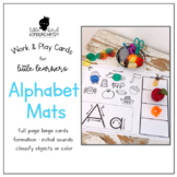 Work & Play Alphabet Mats for Little Learners