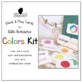 Work & Play Cards Colors Kit for Little Learners