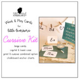 Work & Play Cards Cursive Kit for Little Learners