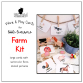Work & Play Cards Farm Kit for Little Learners
