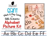 Work & Play Cards (Giant) Alphabet with Pictures
