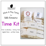 Work & Play Cards Time Kit for Little Learners